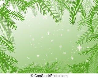 Evergreen frame