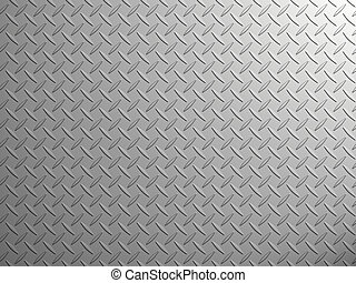 Stainless steel - Sheet of steel hire with a volume...