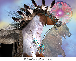 Year of the Bear Horse - The bear in native American culture...