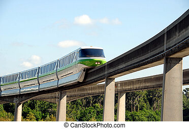 Monorail - Photographed monorail in Florida