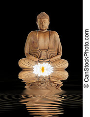 Contemplation by the Buddha