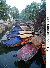 Chinese ancient town in Tongli