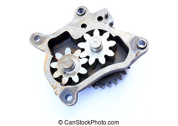 Internal gear pump parts - Internal gear pump parts , Old...