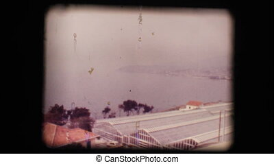 Vintage 8mm. View of San Remo - Vintage 8mm. Original...