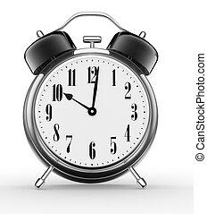 Alarm clock - 3d alarm clock. 3d render