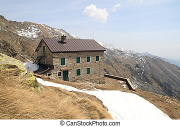 Hostel in the mountains - Hostel in the high mountains...