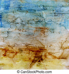 Designed grunge texture / old painted paper background
