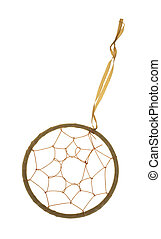 Dream catcher - A plain dream catcher with hoop, web and...