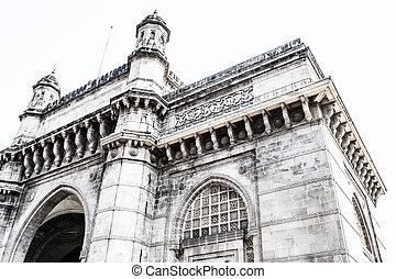 gateway, Para, Índia, cidade, Bombay, Índia