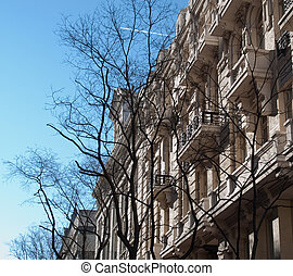 Madrid, architecture, fronts, build