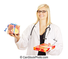 Medical doctor with two gifts
