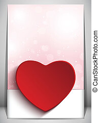 Valentine Day Heart Letter Love - Vector - Valentine Day...