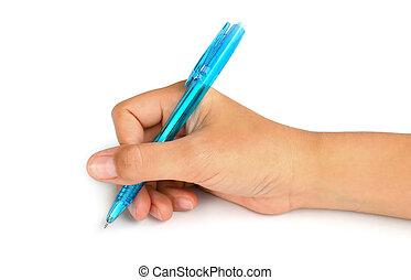mano, escritura