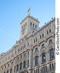 Madrid, architecture, fronts,facade