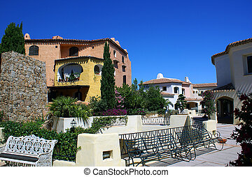 Porto Cervo - Famous resort Porto Cervo (Sardinia)...
