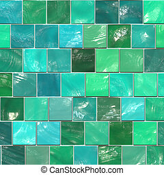 ceramic tile - green ceramic tile