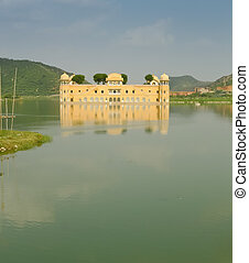 Jal Mahal palace - Jal Mahal, the palace on Man Sagar Lake...