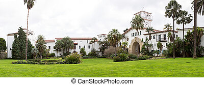 Exterior Santa Barbara Courthouse California
