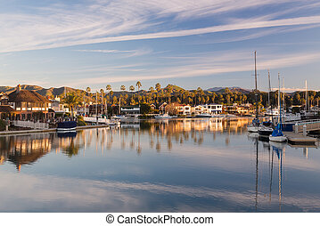 Expensive homes and boats ventura