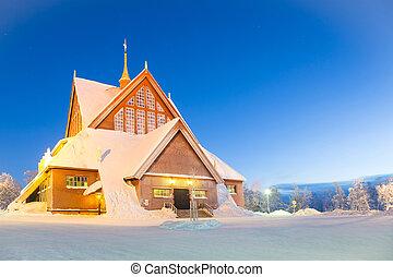 Kiruna cathedral Sweden - Kiruna cathedral church...