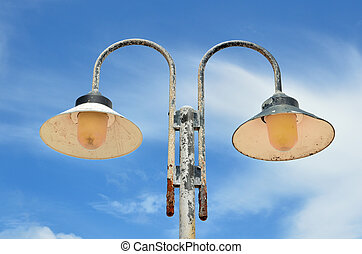 Old lampposts