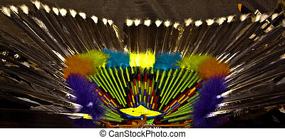 American Indian Decorative Bustle - American Indian...