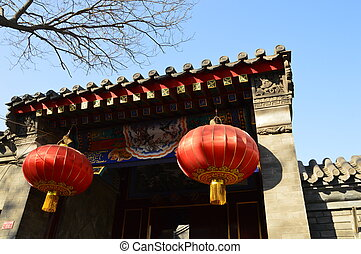 Beijing old town(Jingsitao Protection Zone)