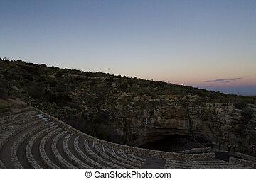 Carlsbad Cavern amphitheater - Amphitheater at Carlsbad...