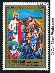 Feeding the multitude - SHARJAH AND DEPENDENCIES - CIRCA...