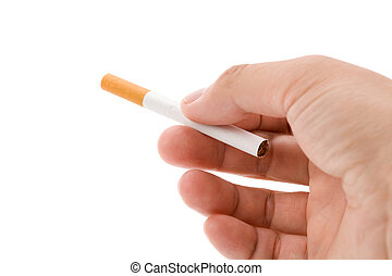 Cigarette - A Cigarette with white background