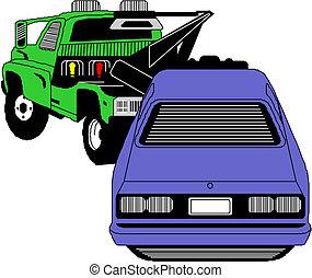 Wrecker car service