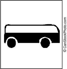 Autobus silhouette