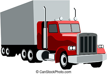 Clip Art Semi Truck Clipart semi truck clip art and stock illustrations 2524 eps trailer truck