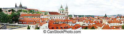 Prague panorama