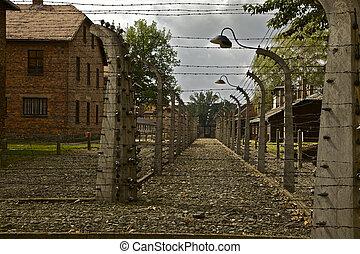 Auschwitz - Concentration camp at Auschwitz