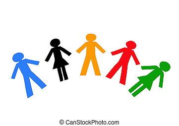 diverso, pessoas