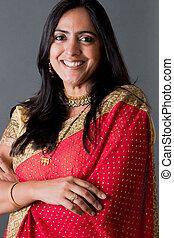 美しい, 女,  indian