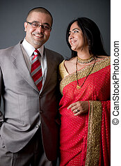 East Indian Couple