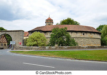 Rothenburg, door fortification 3