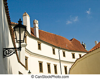 Indirect roof - House with indirect tile roof in Prague
