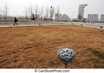 Beijing National Aquatics Center - BEIJING - APRIL...