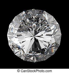 diamantes, 3D, modelo