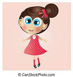 Doll - This image is a vector illustration and can be scaled...