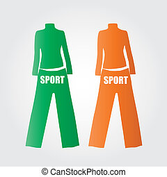 Clothes sporty