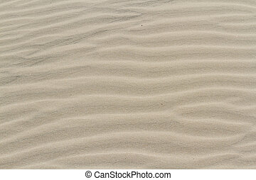 Sand - Patterns in the sand on South Padre Island, TX.