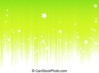 Green background - illustration of Green background with...