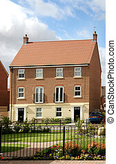 Semi Detached town House - Semi detached town house in...