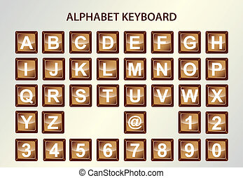 alphabet keyboard