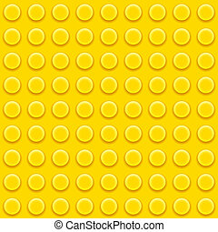 Lego blocks pattern - Vector Lego yellow blocks Seamless...