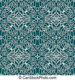 Seamless pattern tiffany
